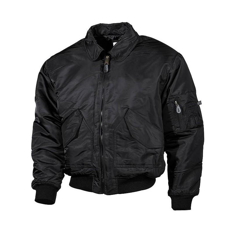 США CWU рейса куртка, Mod., Черный