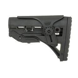 Castellan Sleek Buttstock with cheekrest, M4/M16, black