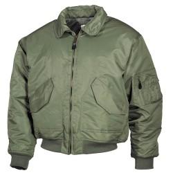 US CWU Flight Jacket, Mod., OD green