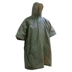 AB Влажная погода пончо, оливково-зеленый