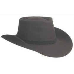 """Ковбойская шляпа """"Вестерн"""", черная"""
