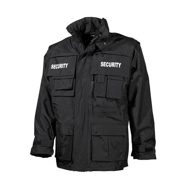 "Jacket ""SECURITY"" black"