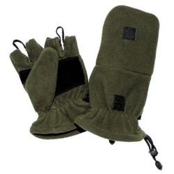Флисовые перчатки, OD зеленый