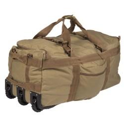 Combat, сумка для транспортировки на колесиках, coyote