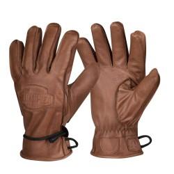 Helikon Ranger Зимние кожаные перчатки - коричневые
