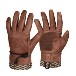 Helikon Woodcrafter кожаные перчатки - коричневый