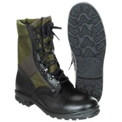 Baltes Bundeswehr Тропические ботинки, черный / оливково-зеленый