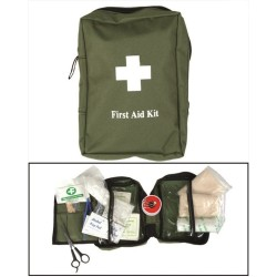 First Aid Kit, big, od green