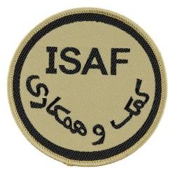 "Riidest embleem, ""ISAF"", khaki"