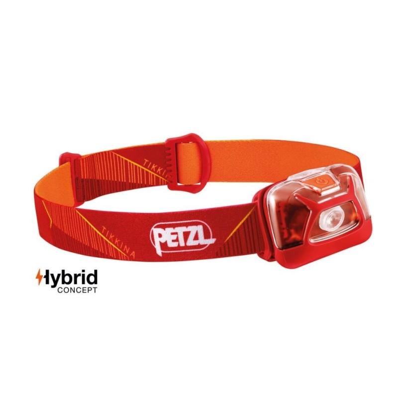 Petzl Pealamp Tikkina® Hybrid, punane