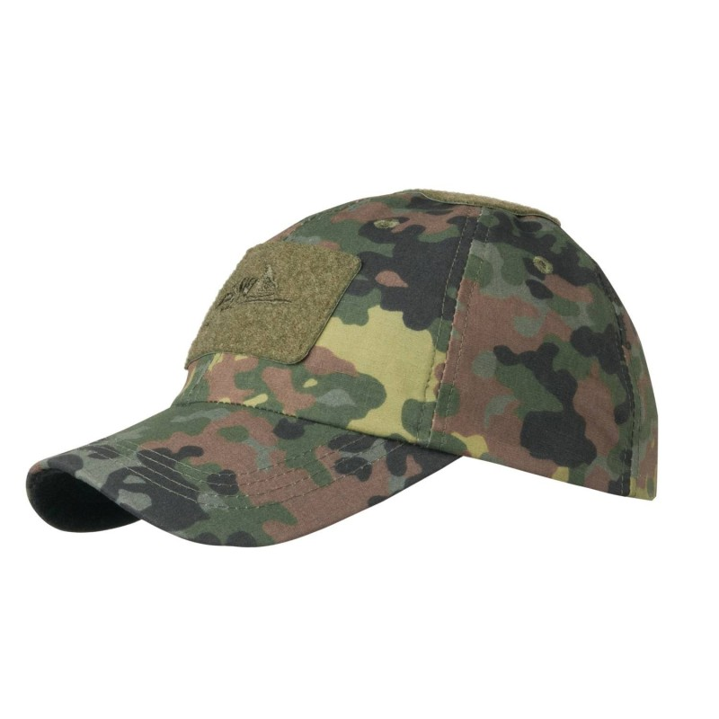 Helikon BBC cap, with Velcro panels, Flecktarn