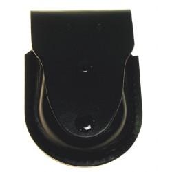 MFH Кожаный чехол для наручников, черный