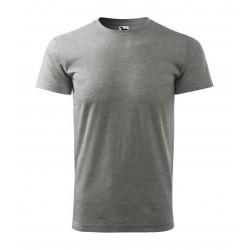 Adler футболка Heavy new x37, dark grey melange
