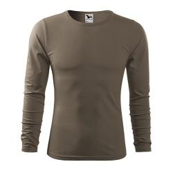 Adler FIT-T Рубашка с длинным рукавом, army brown