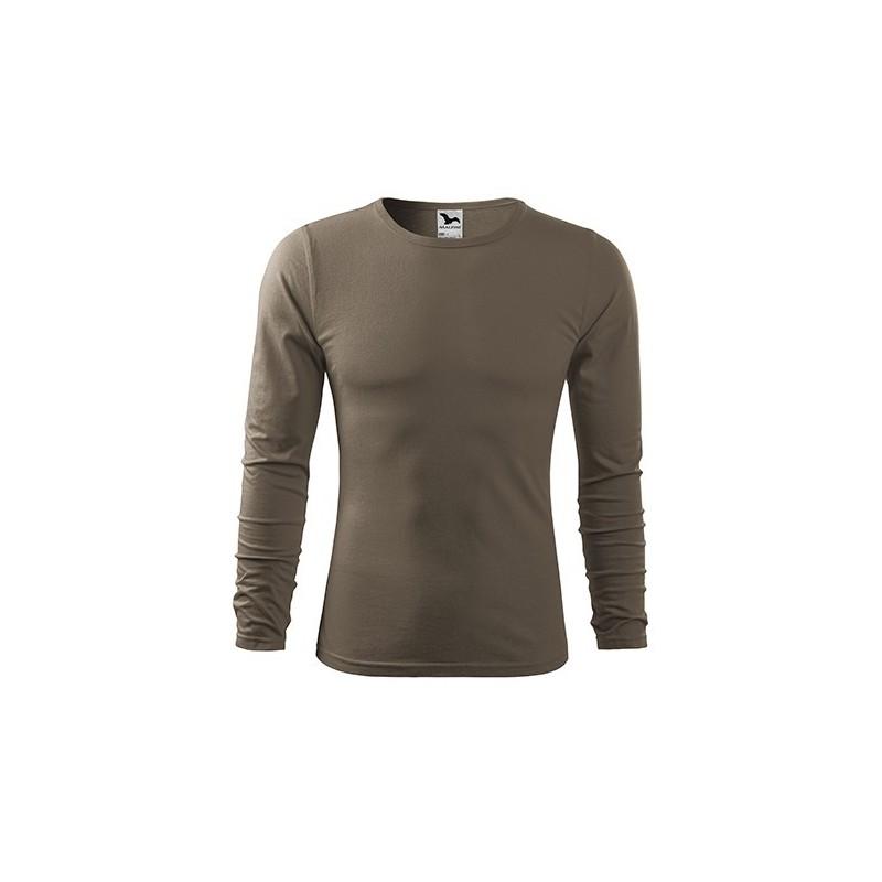 Adler FIT-T pikakäiseline särk, army brown