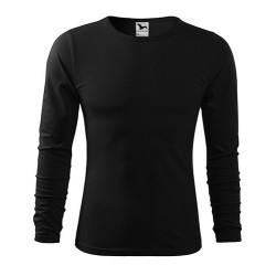Adler FIT-T Рубашка с длинным рукавом, черный