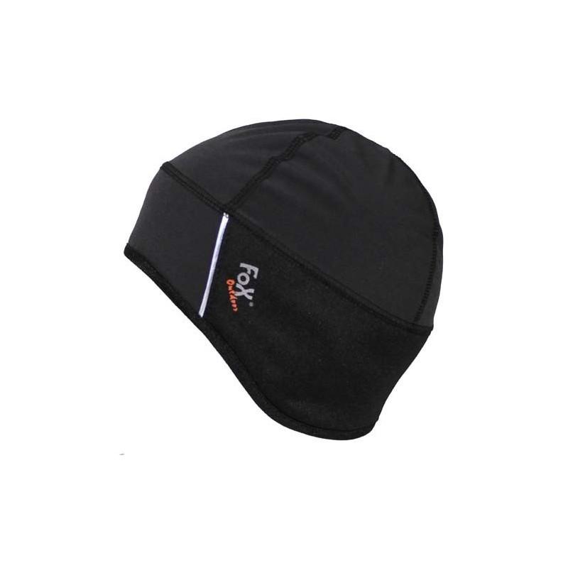 Hat, softshell, black, water-, windproof