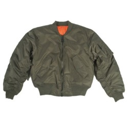 Teesar® US Flight Jacket, MA1®, olive green