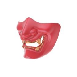 Devil mask, punane