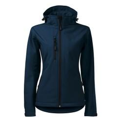 Malfini Performance Softshell jacket for women, navy blue