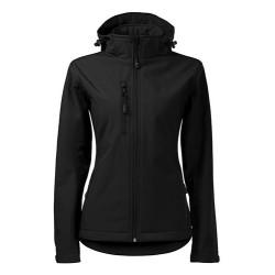 Malfini Performance Softshell jacket for women, black