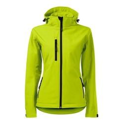 Malfini Performance Softshell jacket for women, lime punch