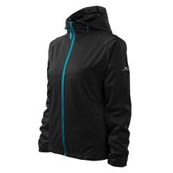 Malfini Cool Softshell Wind jacket for women, black
