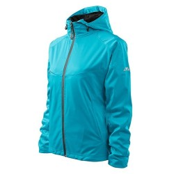 Куртка Malfini Cool Softshell Wind для женщин, blue atoll