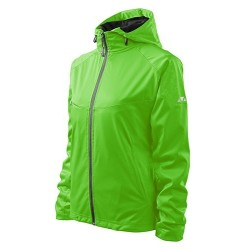 Malfini Cool Softshell Wind jacket for women, apple green