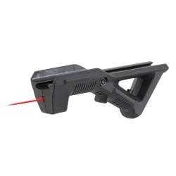 5KU Ergonomic grip with laser, black