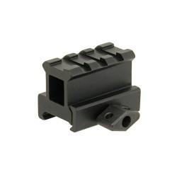 ACM 30mm Mini riser for rail, black