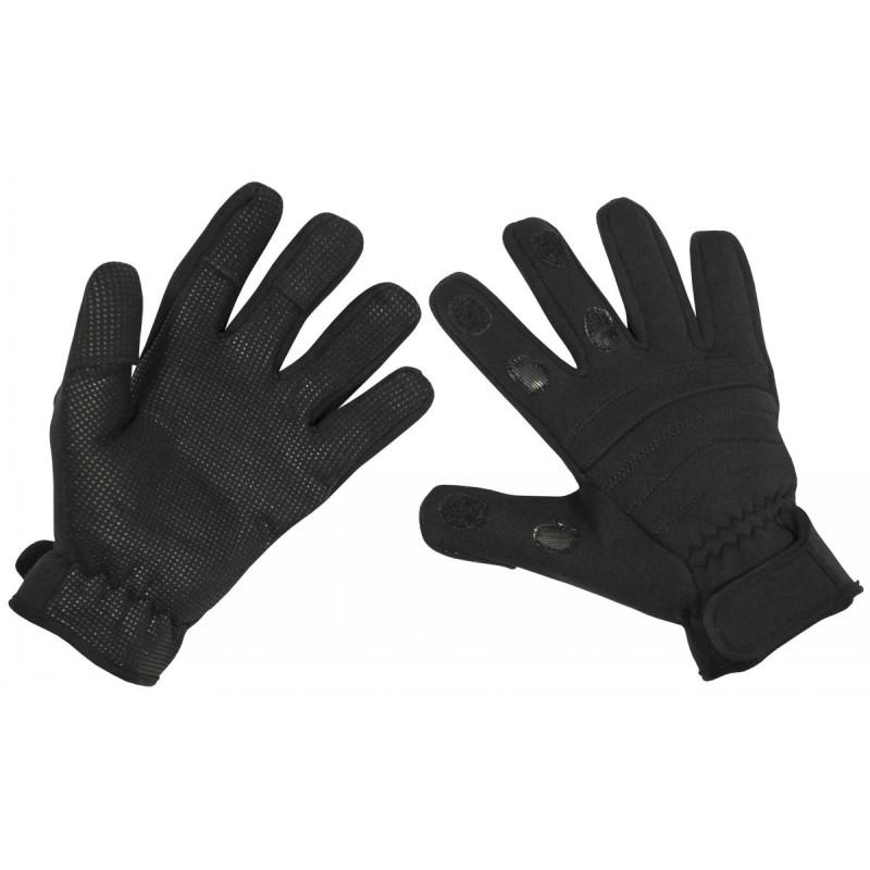 """Gloves """"Combat"""", neoprene, black"""