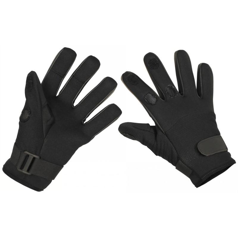 """Gloves """"Mesh"""", neoprene, black"""