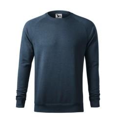 Толстовка Merger 415, темный джинсовый меланж