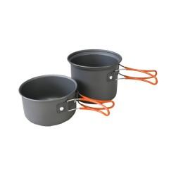 Kombat anodiseeritud alumiiniumist pottide komplekt