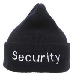 """Смотреть Cap, черный, акрил, серебристый """"Security"""" вышивка"""