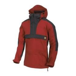 Helikon Woodsman Anorak jacket, Crimson Sky / Ash Grey