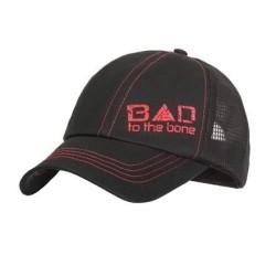 "Бейсболка ""Bad To The Bone"", черный"