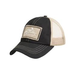 """Nokamüts """"Trucker Logo Cap"""", Black / Khaki A"""