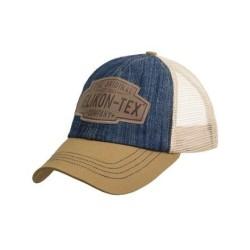 "Бейсболка ""Trucker Logo Cap"", Denim - Dark Blue / Khaki C"