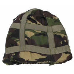 Used British helmet cover, DPM camo