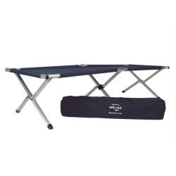 Mil-tec US Field bed, aluminium, dark blue