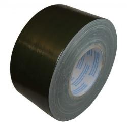 Maskeerimiseks tekstiilteip 75mm x 50m, bronze green