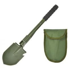 AB Складная лопата с сумкой, оливково-зеленый