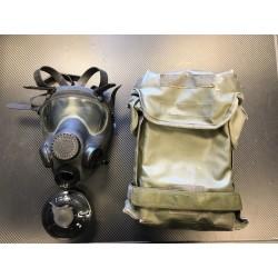 Poola Mp5 gaasimask filtriga, kasutatud kotiga, must