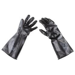 """США резиновые перчатки """"Химическая защита"""", черный"""