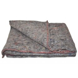 Denmark mixed fabric blanket, grey