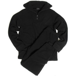Thermofleece underwear with zipper, black