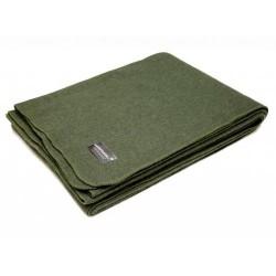AB Wool blanket, 225 x 150 cm, olive green
