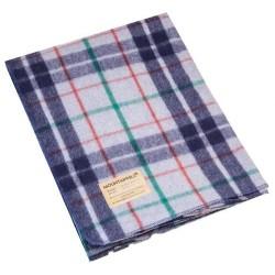 AB Wool blanket, 225 x 150 cm, checkered grey